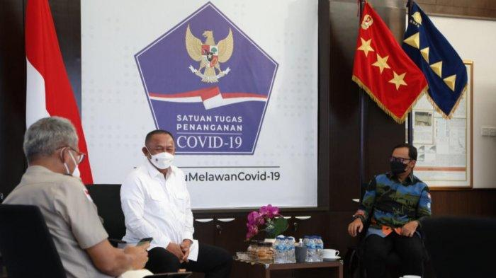 Bahas Darurat Covid di Kota Bogor, Kepala BNPB Minta Bima Arya Aktifkan RS Lapangan