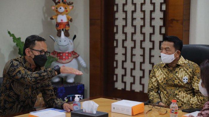 Temui KSP Moeldoko, Bima Arya Bahas soal Program Strategis Kota Bogor