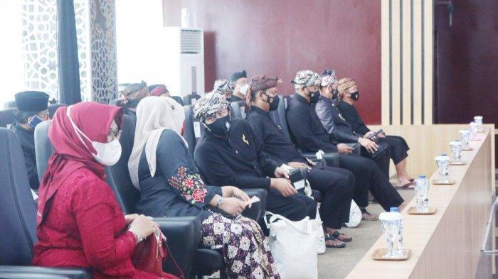 Rapat paripurna istimewa, Hari Jadi Bogor ke-539 Kota Bogor, Kamis (3/6/2021).