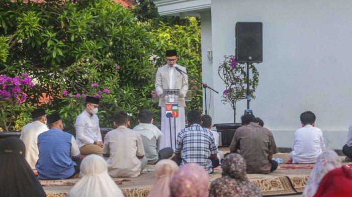 Kutbah Sholat Idul Fitri, Bima Arya: Jangan Hilang Harapan di Masa Sulit Bagi Warga