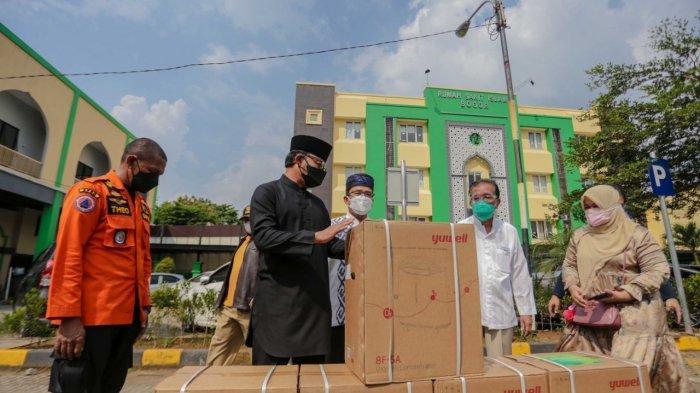 Rumah Sakit di Kota Bogor Dapat Bantuan 100 Oksigen Konsentrator Bantuan Menko Luhut