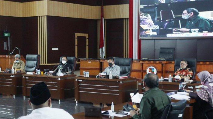 Rapat Pansus Penanganan Covid-19 DPRD Kota Bogor Soroti Kebijakan Ganjil Genap Kota Bogor
