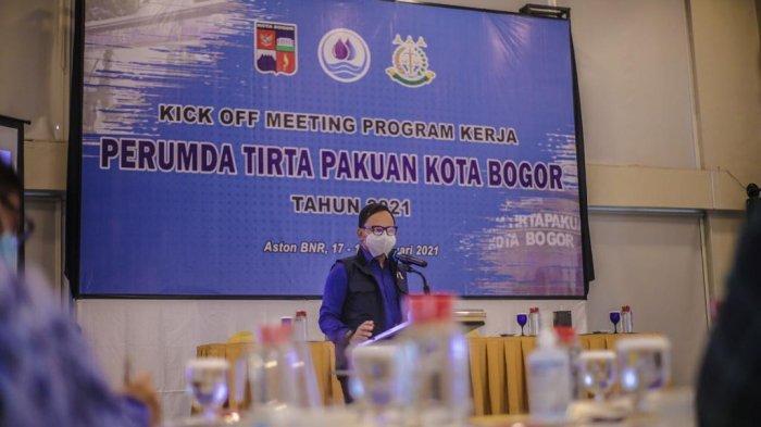 Kick Off Meeting Program Kerja Bima Arya Minta Perumda Tirta Pakuan Bantu Penanganan Covid-19