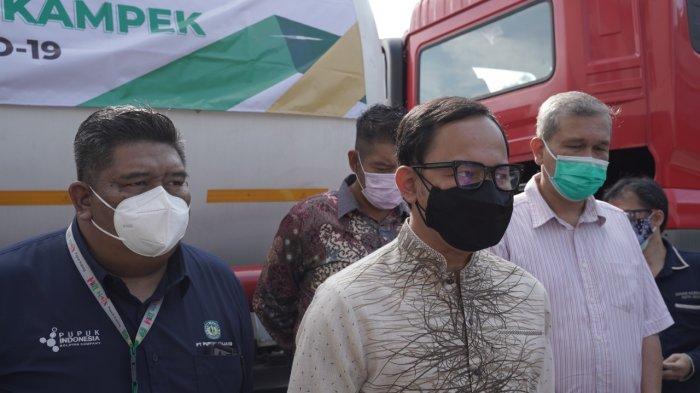 PT Pupuk Kujang Cikampek memberikan bantuan oksigen medis kepada Pemerintah Kota (Pemkot) Bogor melalui RSUD Kota Bogor untuk penanganan Covid-19.