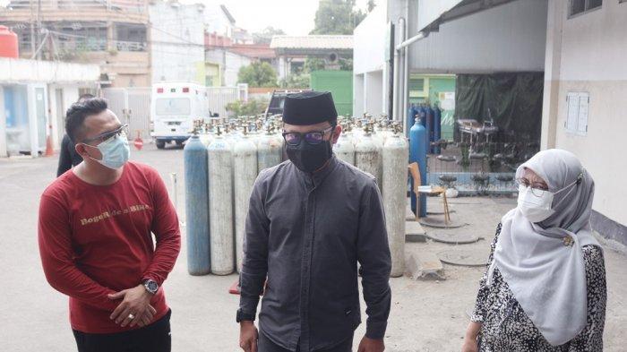 Cek Stok Oksigen di Sejumlah Rumah Sakit, Bima Arya : Kota Bogor Butuh 60 Ton per Hari