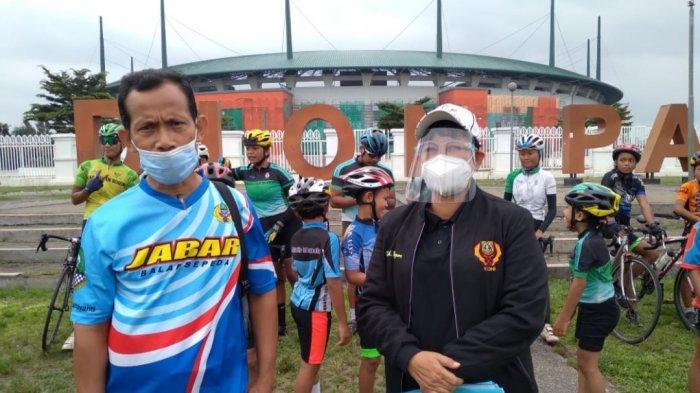 Tatap Porprov XIV Jawa Barat 2022, Atlet Balap Sepeda Kabupaten Bogor Mulai Digembleng