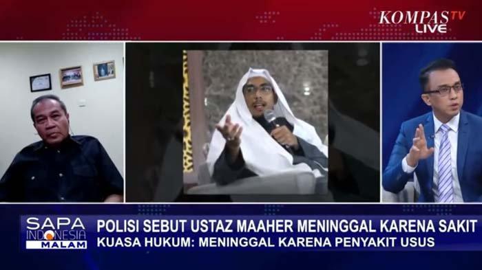 Polisi Tolak Ungkap Penyakit Maaher At-Thuwailibi, Pengacara Singgung Bintik Hitam di Tubuh Almarhum