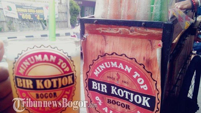 Bir Kotjok di Jalan Suryakancana, Kota Bogor