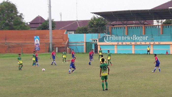 Super Jalapa Liga 3 2019 Jawa Barat - BM Cibinong VS Persebam Ditutup Tanpa Gol