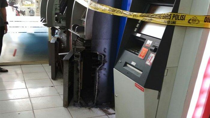 Minimarket Dirampok, Dua Mesin ATM Ikut Dibobol, Pelaku Tinggalkan Tabung Gas