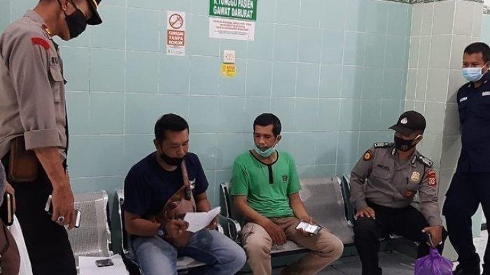 Polsek Sewon melakukan penyelidikan terkait kematian Naba Faiz Prasetya (8) setelah makan sate
