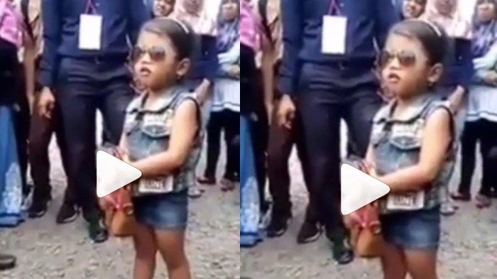 Viral Bocah Perempuan Hafal Sebutkan Nama-nama Menteri Kabinet Jokowi, Begini Video Aksinya