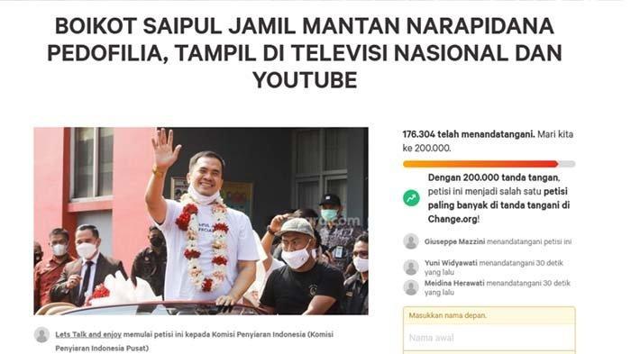 Tak Hanya Saipul Jamil, 5 Artis Ini Diancam Diboikot Tampil di TV, Ayu Ting Ting Sering Dapat Petisi