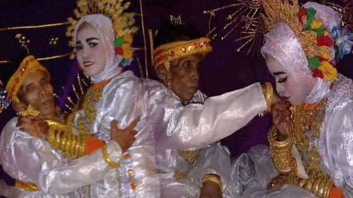 Cerita Malam Pertama Ira dengan Kakek Bora, Ngaku Bahagia Dinikahi Pria Tua : Alhamdulillah