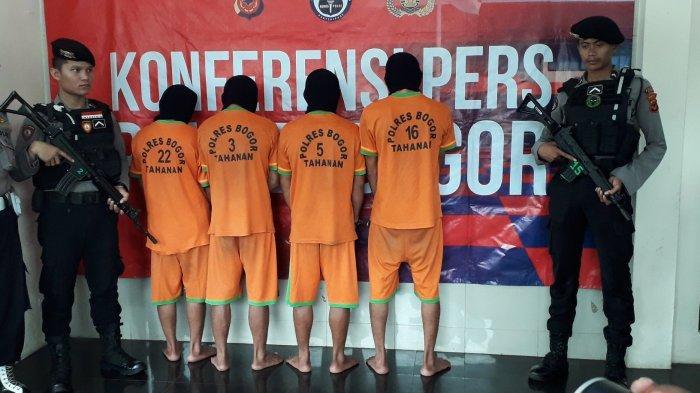 Polres Bogor Tangkap Big Bos Penambang Liar di Cigudeg