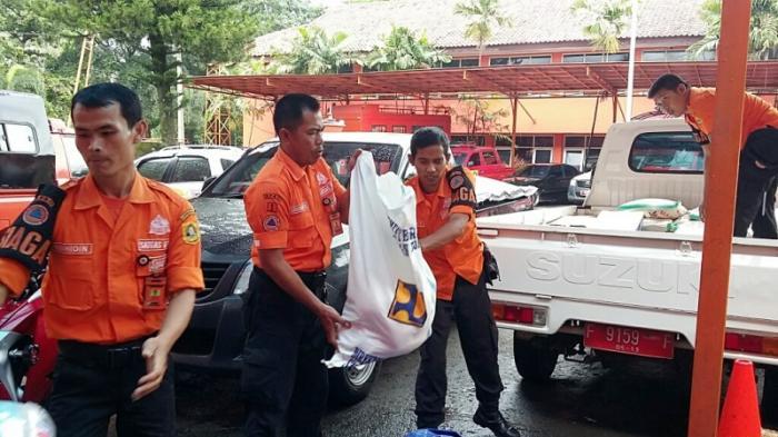 BPBD Kabupaten Bogor Kirim Bantuan Logistik Untuk Korban Bencana