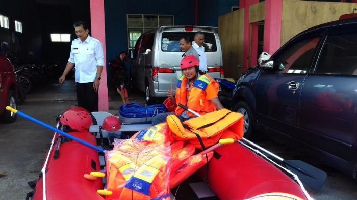 Antisipasi Bencana Pada Musim Hujan, Petugas BPBD Kota Bogor Tetap Siaga di Hari Lebaran