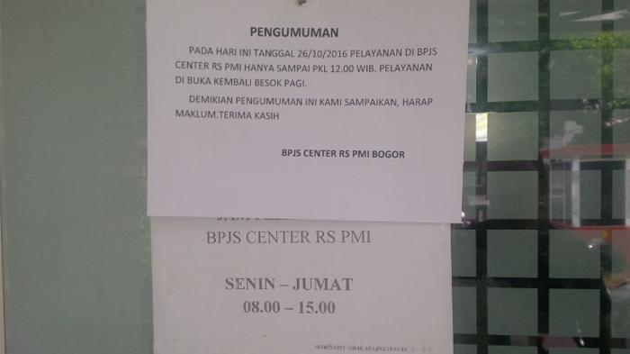 Pasien Kritis di ICU RS PMI Terhambat Dirujuk Karena Kantor Pelayanan BPJS Tutup