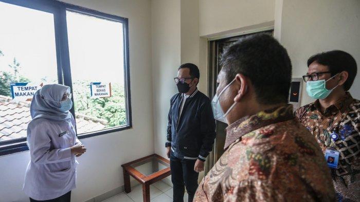 Pusdiklatwas BPKP Ciawi Jadi Pusat Isolasi Pasien Covid-19 OTG Kota Bogor