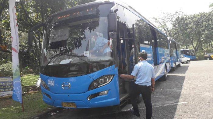 Buka Jalur Baru, BPTJ Uji Coba Bus Angkutan Umum Jurusan Sentul - Jakart