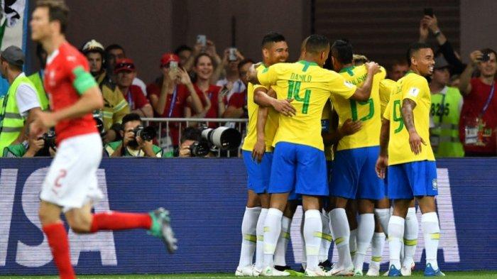 Jadwal Siaran Langsung Piala Dunia Jumat 22 Juni 2018 - Brasil Wajib Menang Lawan Kosta Rika