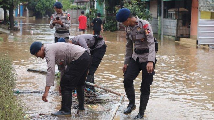 Bojongkulur Bogor Banjir, 100 Personel Brimob Diterjunkan