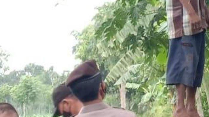 Pria Gantung Diri di Pohon Mangga karena Depresi, Minta Uang Rp 20 Ribu untuk Bekal Bertemu Tuhan
