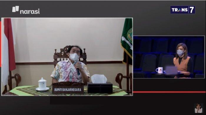 Bupati Banjarnegara Sebut Pilek hingga Budek Dicovidkan, Najwa : Orang Tak Percaya Dapat Pembenaran