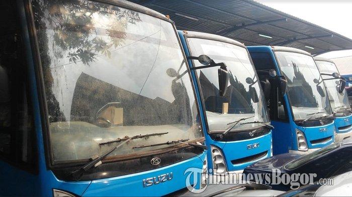 Bus Hibah Kementerian Perhubungan Untuk Kota Bogor Kondisinya Sudah Tak Lagi Prima