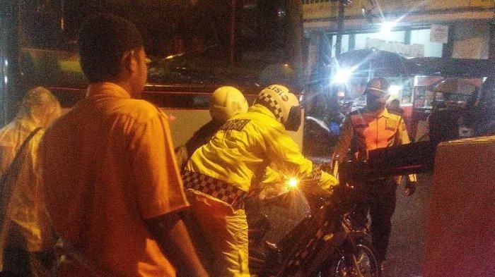 Detik-detik Tabrakan Beruntun Depan Toko Terang Bogor, Bus Tak Terkendali dari Jembatan Merah