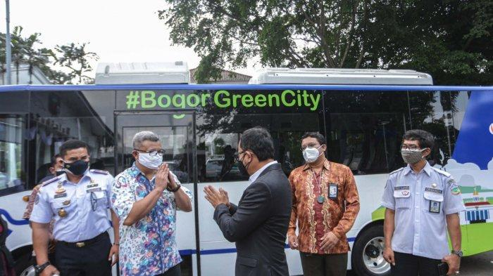 Bus Listrik Mengaspal di Kota Bogor, Wakil Wali Kota Dedie A Rachim Ucap Begini