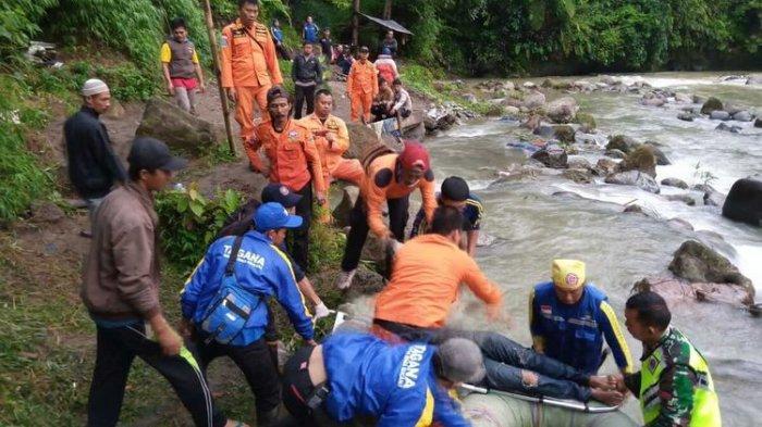 Daftar 13 Orang Penumpang Selamat dari Kecelakaan Bus Sriwijaya Masuk Jurang