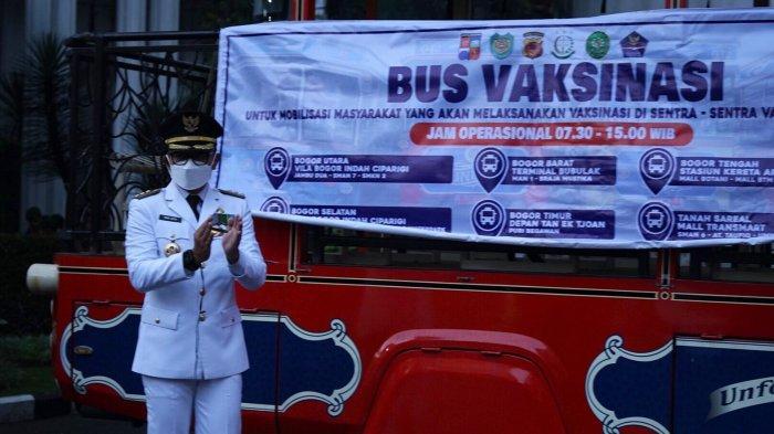 Kejar Target Akhir September Tuntas, Tim Satgas dan Bus Vaksinasi Dilaunching