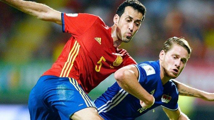 Jadwal Grup E di Euro 2020 : Timnas Spanyol Kehilangan Pemain Andalan, Sergio Terinfeksi Covid-19
