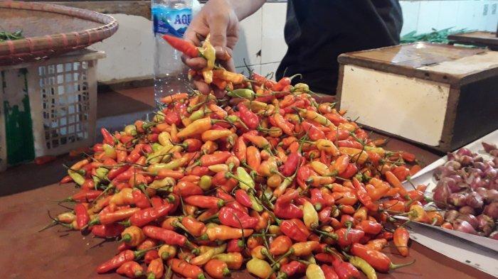 Jelang Puasa Ramadhan, Harga Cabai di Pasar Cibinong Bogor Naik 4 Kali Lipat