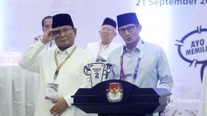 Galang Dana Perjuangan Prabowo-Sandi Capai Rp 3,5 Miliar