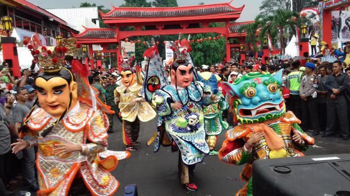 Ondel-ondel Taiwan Datang ke Bogor Setelah Komunikasi Gaib Antar Vihara