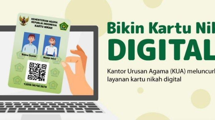 Cara Dapatkan Kartu Nikah Digital untuk Pasutri Lama dan Pengantin Baru, Ini Syarat Dokumennya !