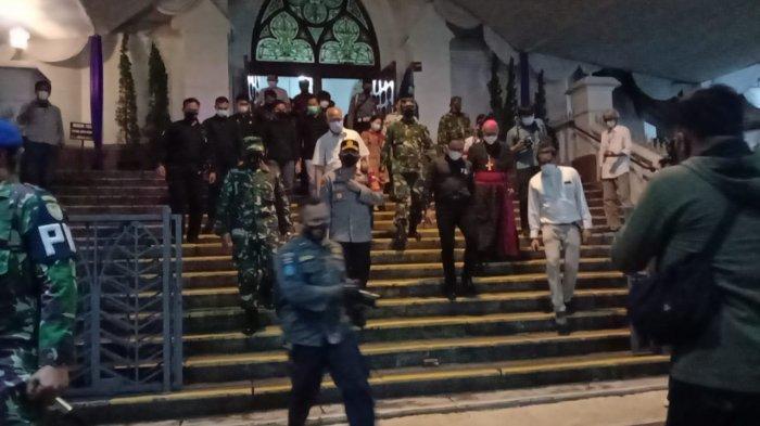 Bima Arya Bersama TNI-Polri Cek Pengamanan di Gereja Katedral Kota Bogor