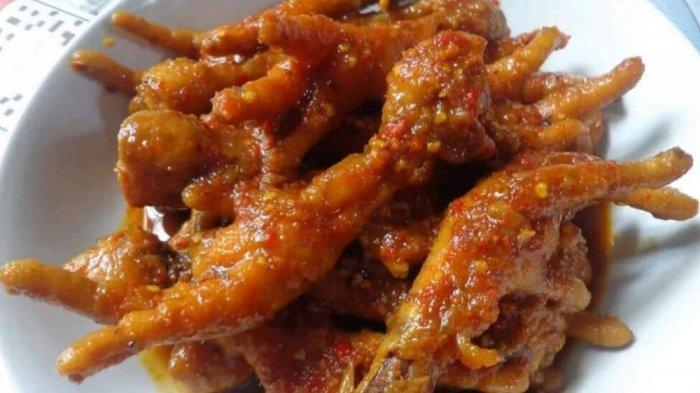 Dirumahaja untuk Cegah Corona, Makan Ceker Mercon Mengundang Selera, Pedasnya Meledak di Mulut