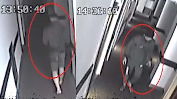 Tinggalkan Wanita Telanjang Tak Bernyawa, Sosok Pria Misterius Terekam CCTV Pakai Celana Berbeda