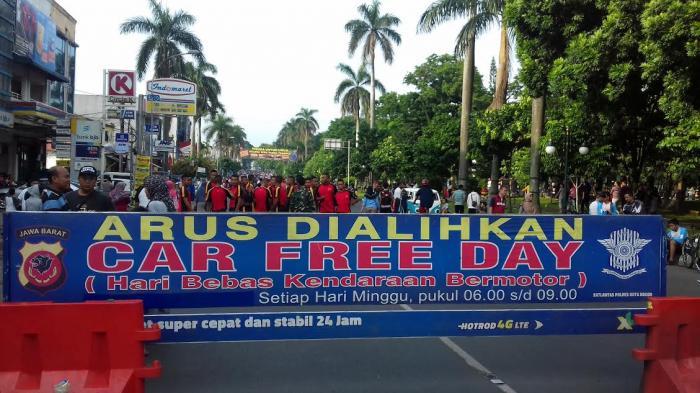 Selamat Tinggal Car Free Day Kota Bogor, Ini 2 Lokasi Olahraga yang Ditutup Sementara