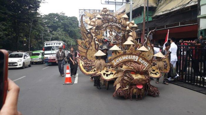 BREAKING NEWS - Bogor Street Festival CGM 2020 Dimulai, Lalu Lintas Macet