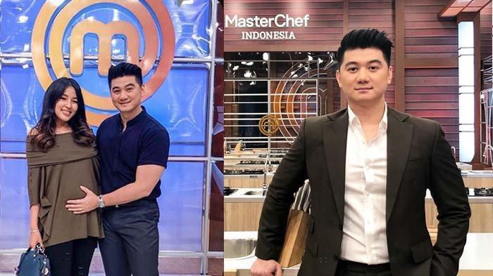 Chef Arnold Poernomo dan sang istri yang tengah hamil