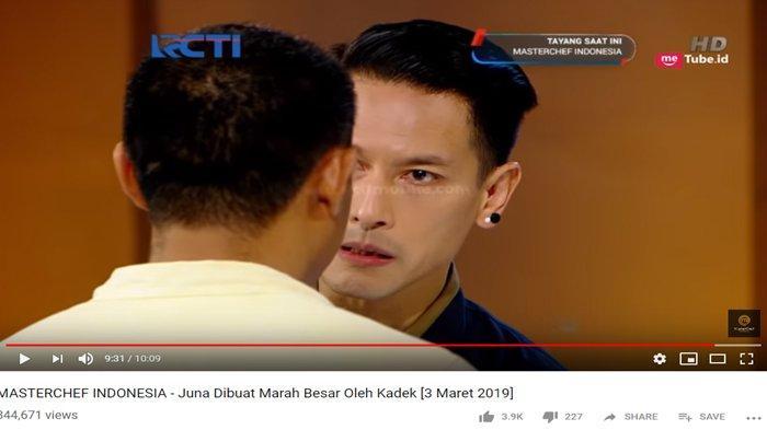 Chef Juna marah ke peserta Masterchef Indonesia season lima
