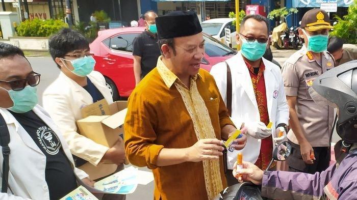Ciu Dimanfaatkan Jadi Bahan Hand Sanitizer, Bupati : Daripada Buat Mabuk-mabukan