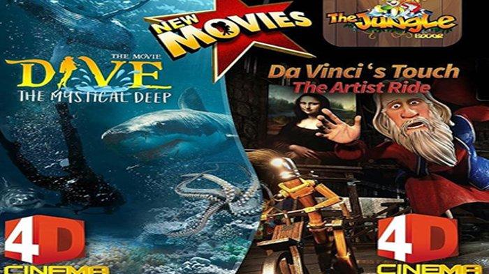 Serunya Menyelami Bawah Laut di Cinema 4D The Jungle Waterpark, Ada Kisah Lukisan Monalisa Juga