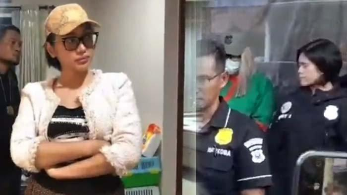 Lucinta Luna Tertunduk, Polisi Sebut Jenis Kelamin LL di KTP adalah Perempuan : Paspornya Laki-laki