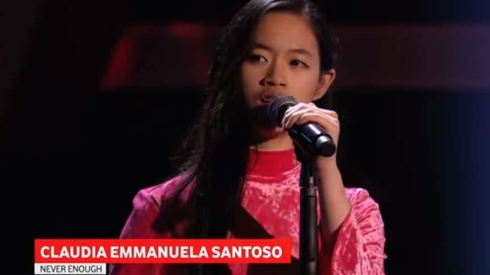 Kini Jadi Juara The Voice of Germany, Claudia Emmanuella Santoso Pernah Gagal di 2 Ajang Indonesia