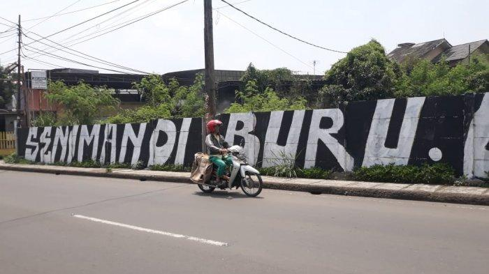 Coretan Dinding Bernada Protes Bermunculan di Kota Bogor